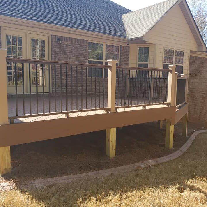 deck for client in atlanta