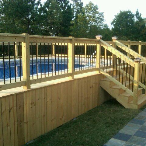 gated pool