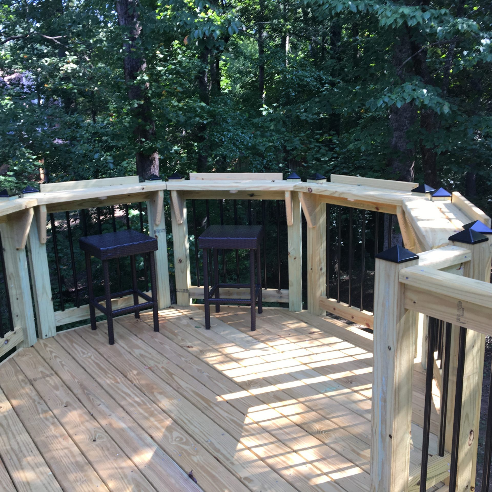 attached deck