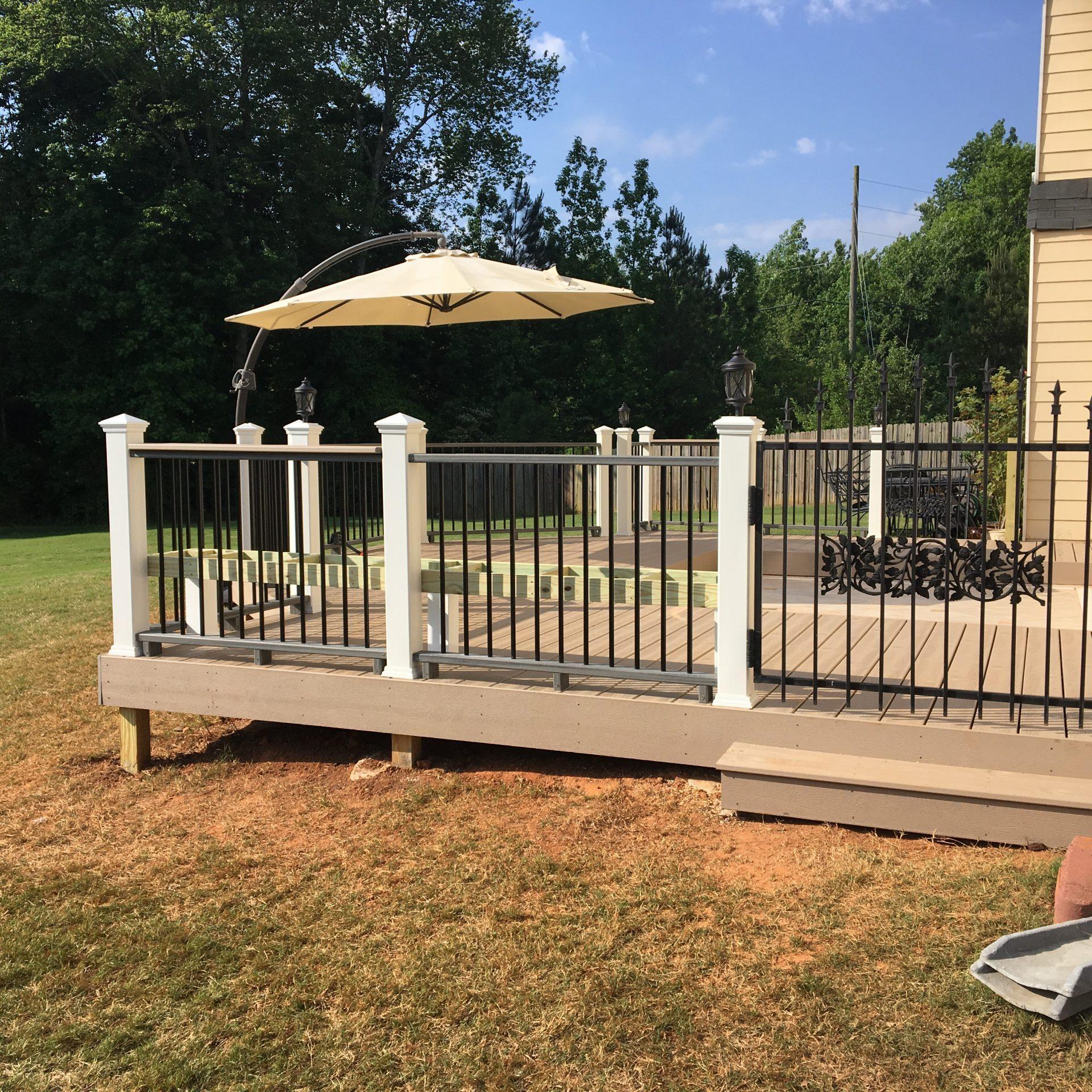 back porch deck